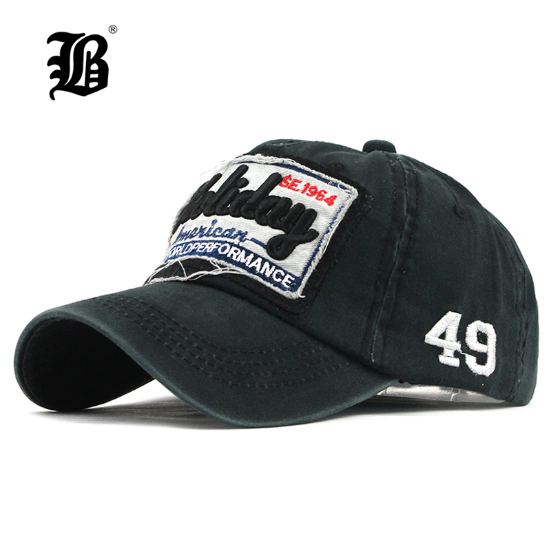 FLB  nueva lavado gorra de béisbol gorra Snapback sombrero para hombres  hueso mujeres Gorras 063b42d8100