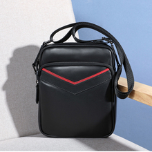 купить BAQI Brand Men Handbags Shoulder Bag Genuine Leather Cowhide High Quality 2019 Fashion Men Crossbody Messenger Bags Casual Bag по цене 2507.55 рублей