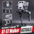 LEPIN 05052 1136 Unids Star Wars The Force Despierta AT-ST Walke Modelo Kits de Construcción de Bloques de Ladrillos Educativos Juguetes Compatibles 75153