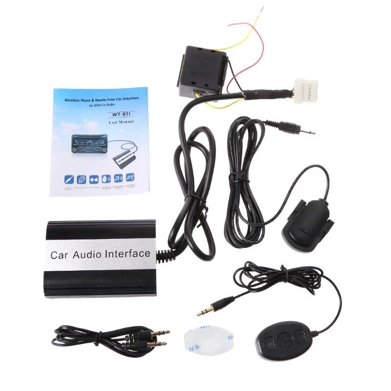 1 Set de Kits Bluetooth pour voiture nouvelle Interface adaptateur MP3 AUX pour Nissan pour Infiniti 2000-2010 accessoires de voiture