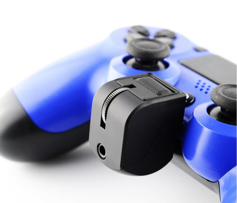 For <font><b>Sony</b></font> Playstation 4 <font><b>PS4</b></font> Game Controller PSVR <font><b>PS4</b></font> <font><b>VR</b></font> 3.5mm Mini Handle Audio headset adapter Micphone Earphone Voice Control image