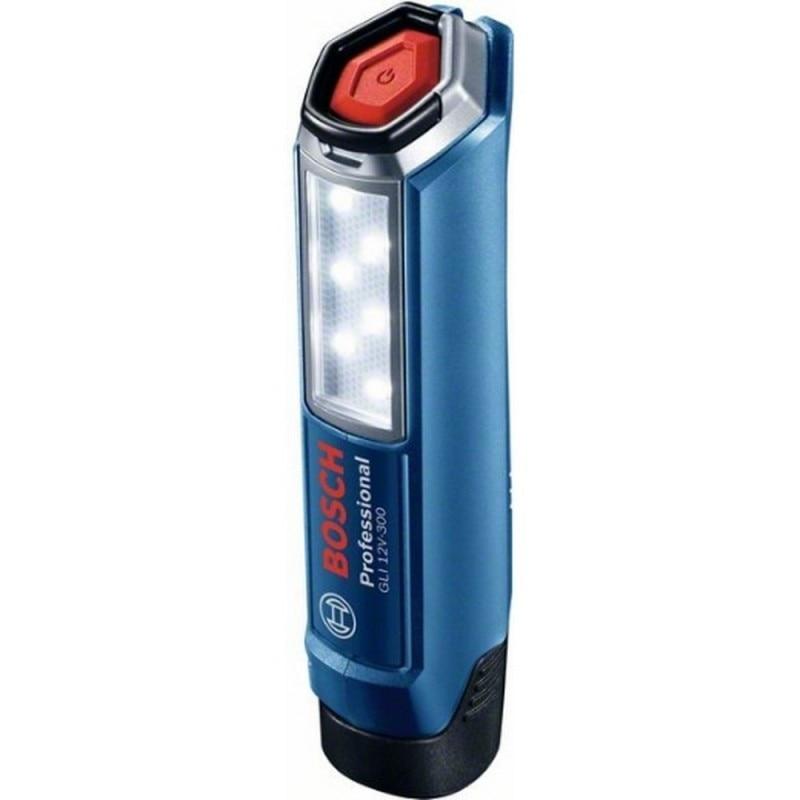 BOSCH 06014A1000 Lantern GLI 12V-300 Professional 12 V 6 LED 300 Lum Autonomy 9 H Hook Hangup Handheld 4 0,16 Kg