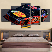5 Panel/piece HD Print Catching Zack the Race Car modern wall posters Canvas Art Painting For home living room decoration