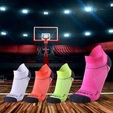 Новинка, профессиональные мужские и женские спортивные носки, дышащие носки для бега, фитнеса, баскетбола, велоспорта, компрессионные эластичные спортивные носки для взрослых