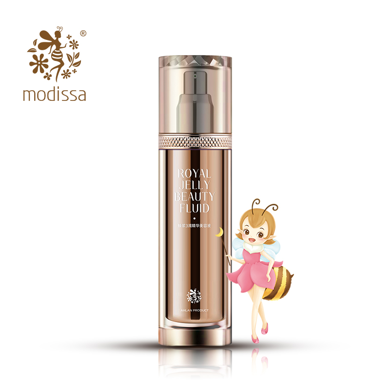 MODiSSA Royal Jelly Beauty Fluid Toner Lotion Essence 3 in 1 Face Beauty Fluid Promotes Blood Circulation Moisturizing Skin Care hydrodynamic fluctuations in fluids and fluid mixtures
