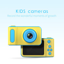 Sansnail Mini Digital Camera 2 Inch Cartoon Cute  Children Birthday Gift 1080P Toddler mini camera