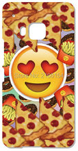 Retail Funny Emoji Phone Cover For HTC one X M7 M8 M9 For Samsung Galaxy E5 E7 S3 S4 S5 Mini S6 S7 Edge Plus Note 3 4 5 Case