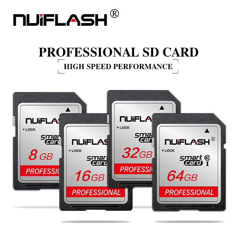 Memory-Card Camera Shooting 10-Sd-Card Nikon 256GB Class Video 16GB 128GB 64GB 32GB 4K