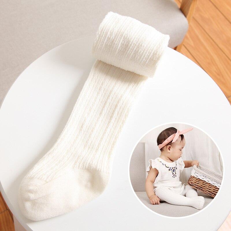 Детские хлопчатобумажные колготки детские колготки для девочек теплые колготки для новорожденных детские чулки 5 цвета