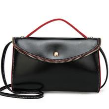 2019 New Women's Single Shoulder Bag Fashion Oblique Spin Small  Zipper Bag Handheld Girl Bag