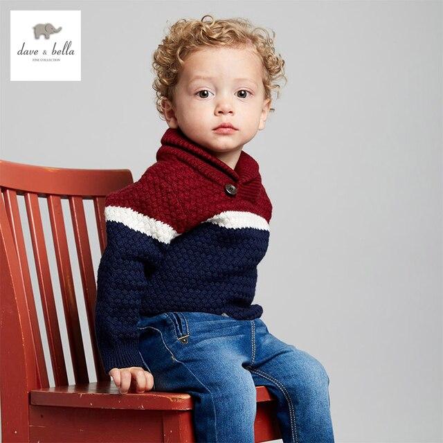 DB4016 dave bella  autumn baby boys  striped sweater