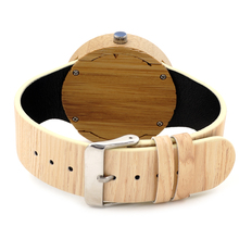 Retro Wooden Gold Watches With Simple Design