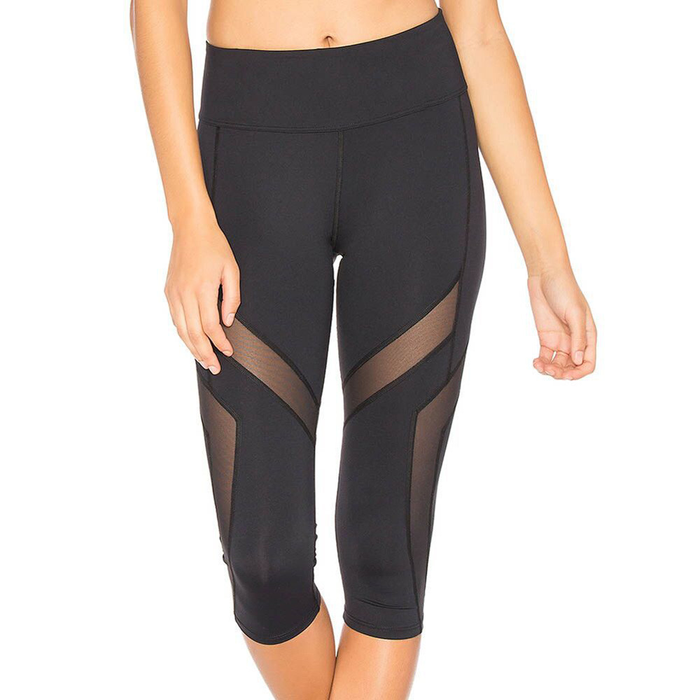 Leggings Sweatpants Track Sports-Trousers Stretched Black Women Tight Workout Fitness