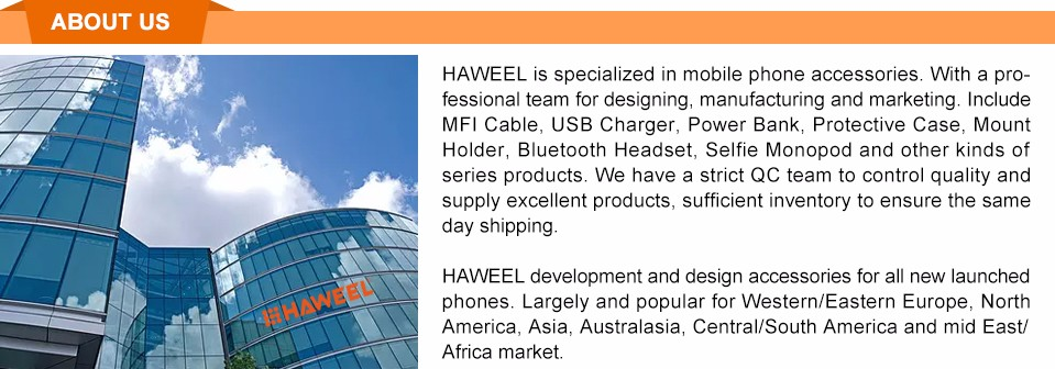 Haweel Caricabatterie per Carica 23