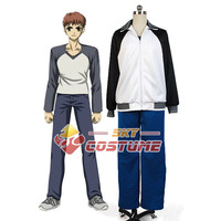 Fate/stay night Shiro Emiya Coat Pants Outfit Cosplay Costume Coat OutWear Dress Jacket New Arrival Full Set