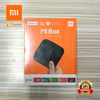 Mi Box 4k Ultra HD Set Top Box Global Xiaomi Original Google Cast Voice Search Remote
