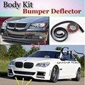 Para BMW 7 E32 E38 E65 E66 E67 E68 F01 F02 Parachoques Labio Labios/Top Gear Shop Spoiler Tuning/TOPGEAR Mostrar Cuerpo Kit + tira
