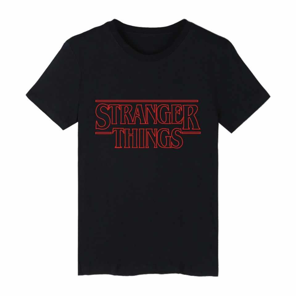 LUCKYFRIDAYF странные вещи футболка лето странные вещи футболка Homme Футболка мужская хип-хоп Starnger вещи футболка