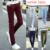 Pantalones de los hombres del verano 2016 pantalones largos pantalones rectos ocasionales más tamaño 38 pantalones de algodón hombres pantalon homme