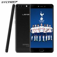 LEAGOO T5c 5.5 Pouces Phablet 3 GB RAM 32 GB ROM Android 7.0 SC9853 Octa Core 13.0MP + 2.0MP Double Caméras D'empreintes Digitales 4G téléphone