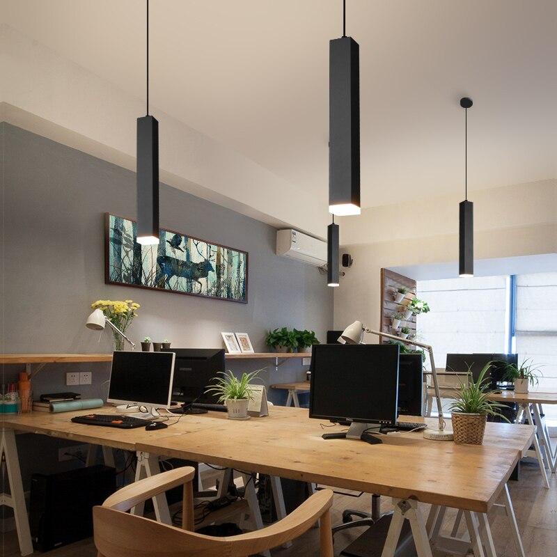 T LED Aluminum Creative Lights Bar Coffee Shop Simple