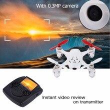 RC FPV Quadcopter HD Camera Drone LCD Control Transmitter Hubsan X4 H107D Pro