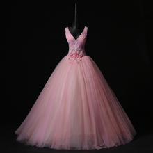 pink flower lace beading veil ball gown long medieval dress rose stage Victorian princess/Marie Antoinette ball gown Belle Ball