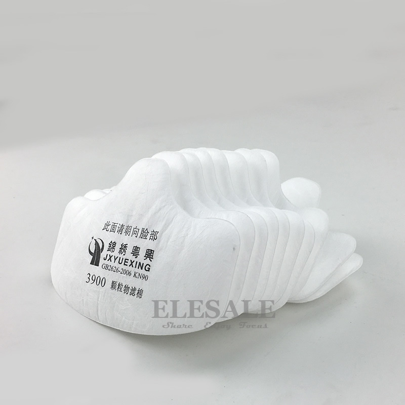 Cheap Price 10pcs Cotton Filters For Our 3600 Dust Mask Dust-proof Mask Accessories And Digestion Helping