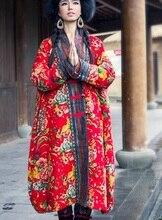 Выпуск продукта зимой 2015 года, оригинальный дизайн более свободно большие ярдов хлопка женщин длинные хлопка мягкой одежды