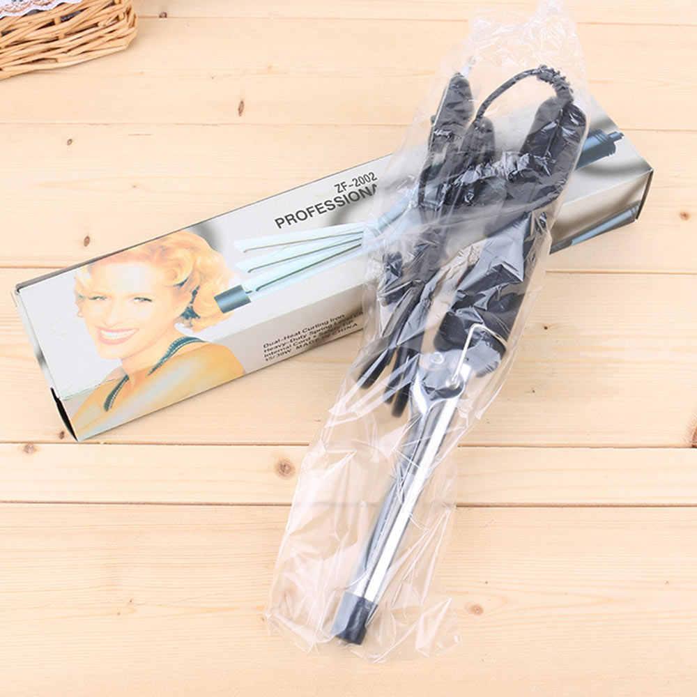 Профессиональные бигуди для волос планка Магия щипцы для завивки вьющиеся кудрявые волосы Керлинг палочка Электрический стайлер для волос Pro инструмент для укладки krultang