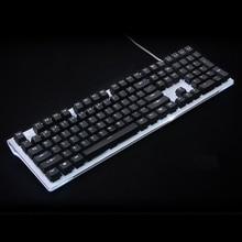 Biały czarny podświetlenie Keycap 108 key PBT podświetlany Keycap dla OEM cherry przełączniki MX mechaniczna klawiatura do gier sprzedaż tylko klawisze