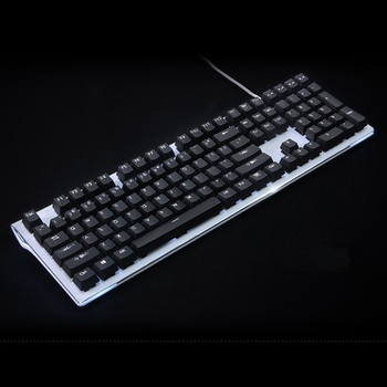 White Black Backlight Keycap 108 key PBT Backlit Keycap For OEM cherry MX Switches Mechanical Gaming Keyboard Sales only keycaps cartoon keycap 104 keys pbt backlit keycaps cherry mx switches key caps with keycaps puller for mechanical keyboard