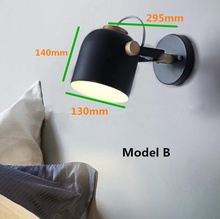 10pcs LED Wall Lamp Creative Nordic Wall Light Dining room Restaurant Corridor Cafe Wall lamp Wall Sconce Bedroom Beside lights modern magic bean double head wall lamp ceiling hanging wall light corridor lights edison wall sconce lamps for cafe restaurant