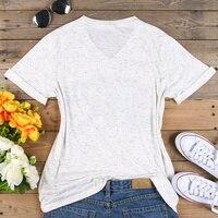 плюс размеры для женщин футболка с V шеи короткий рукав летние цветочные мама медведь футболка повседневная женская обувь мода футболка топы футболка размер 3XL