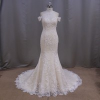 Vestido De Novia 2017 Lace Mermaid Wedding Dress Sexy Backless Bridal Gown