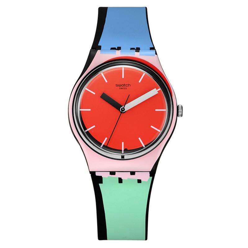 Swatch Watch Colorful Color Quartz Watch GB286 swatch original colorful quartz watch suob135