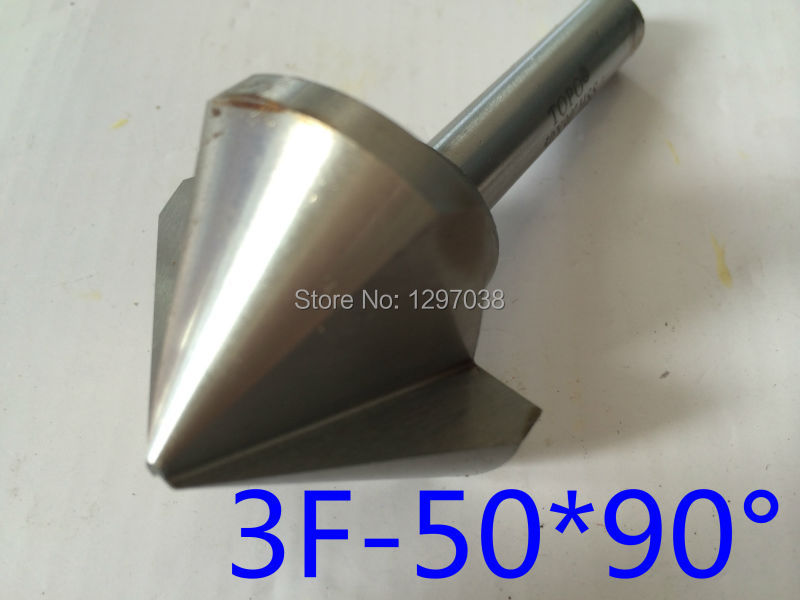 цены 1pcs  50 mm 90 degree 3 Flute HSS chamfer cutter