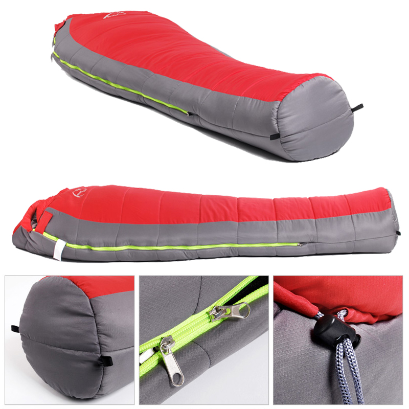 Outdoor Camping Lazy Sleeping Bag Winter Thermal Warm Camping Bed For 12 Degree Weather Winter Cotton Bag Sleeping