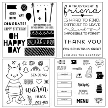 ZhuoAng A large collection of postage stamp Transparent and Clear Stamp DIY Scrapbooking Album Card Making Decoration