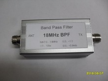 BPF-plus 18 18MHz BPF high isolation bandpass filter Shortwave Communication Anti-jamming to improve signal-to-noise ratio
