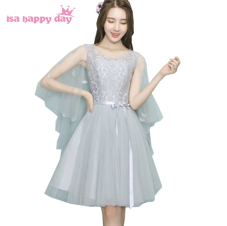 Buy illusion neckline bridesmaid dress and get free shipping on  AliExpress.com a22c21273320