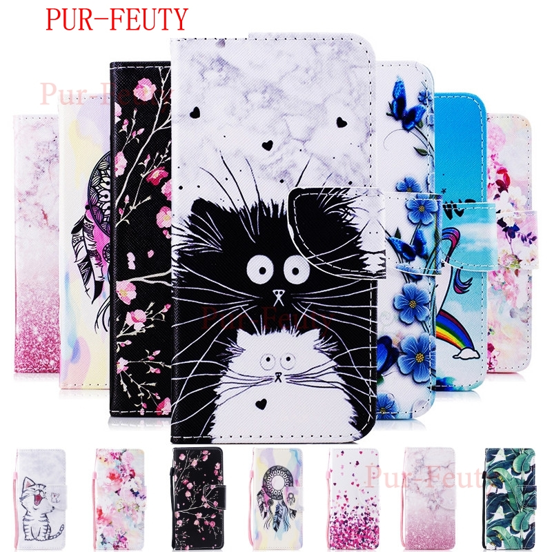 <font><b>Case</b></font> For Samsung Galaxy A8s fashion cartoon magnetic high quality Leather Flip Wallet Stand Phone Cover For Galaxy SM-G8870 <font><b>G887</b></font> image