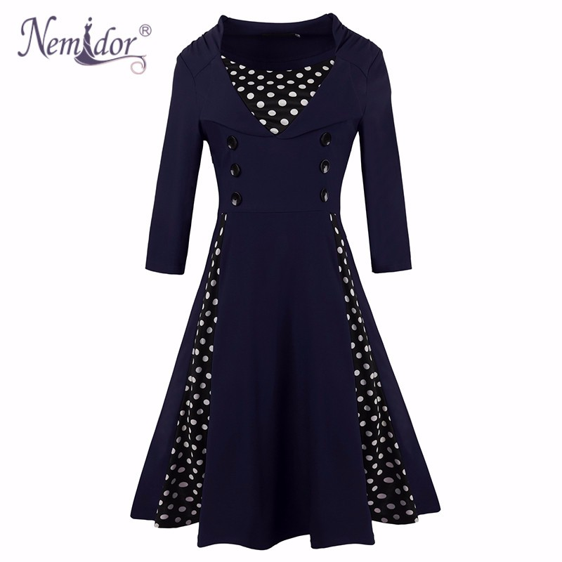 Plus size vintage dress (4)