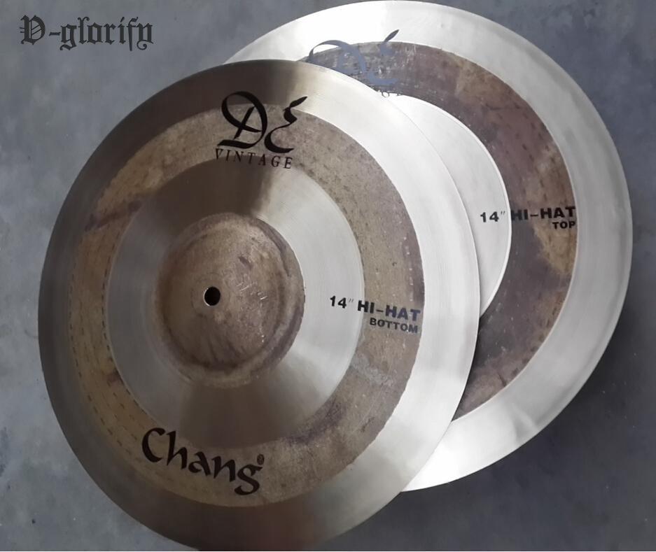 14inch HI-HAT DE Vintage cymbal 1 pair тарелка хай хэт zultan 14 aja hi hat