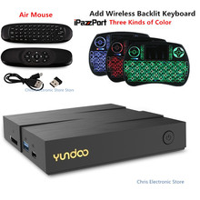 Mesuvida YUNDOO Y8 Android 6.0 TV Box 2 GB 16 GB 4 GB 32 GB Cortex-A72 + BRAS Cortex-A53 CPU 64 peu bluetooth 4.1 Set-top Box