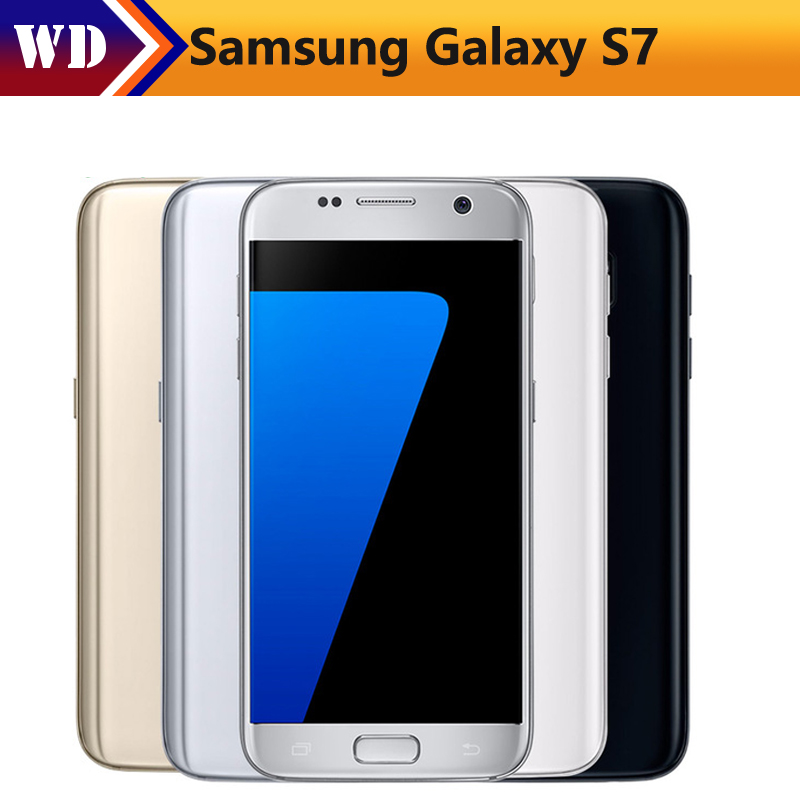 "Цена за Samsung Galaxy S7 G930V Оригинальный Разблокирована 4 Г LTE GSM Android Мобильного Телефона Quad Core 5.1 ""12MP RAM 4 ГБ ROM 32 ГБ 3000 мАч"