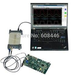 6082BE PC USB 2CH oscyloskop cyfrowy 80 MHz 250 MSa/s Hot