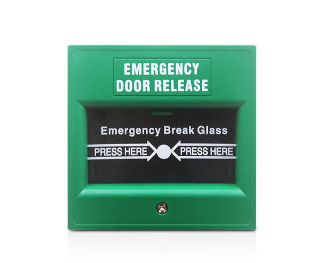 Access Control Provided Glass Break Exit Button Emergency Exit Button Fireproof Break Glass Release Button Rfid Switch Push Exit,min:1pcs Relieving Heat And Sunstroke