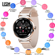 Women Smart Watch Diamond Glass Heart Rate Blood Pressure Monitor Fitness Tracker For iOS Android Smartwatch  Sleep Tracker цена