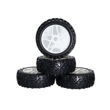 4PCS 1/8 RC Banner Wilderness Buggy Truck Off-Road Tyre/tires And wheels  for 1/8 RC car parts Buggy KYOSHO HPI LOSI HSP цена в Москве и Питере